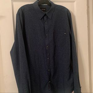 NWOT Marmot Nanowick Performance Button Down Sz L